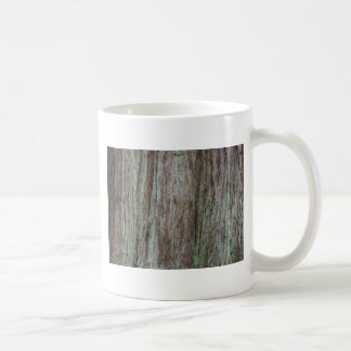 Tree Bark Basic White Mug