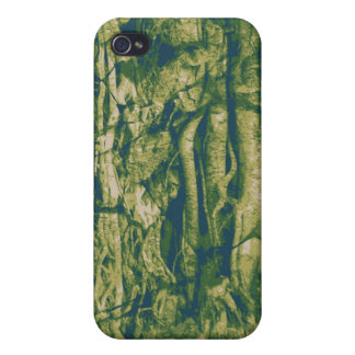 Tree bark camouflage pattern iPhone 4/4S cover