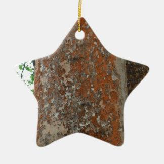 Tree Bark Christmas Ornament