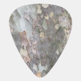 Tree Bark Guitar Pick