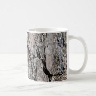 Tree bark mug