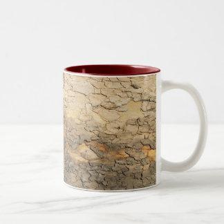 Tree bark Two-Tone mug