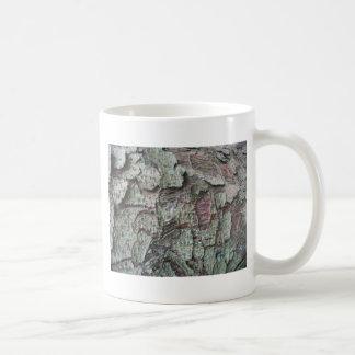 Tree bark basic white mug