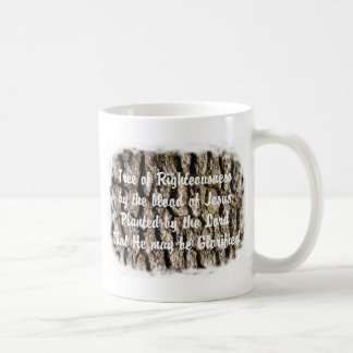 Tree Bark nature bible based Christian message Coffee Mug