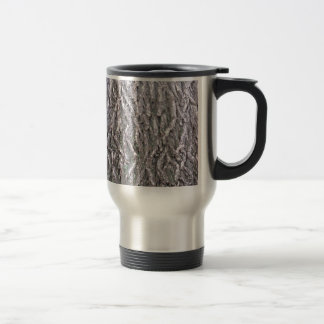 Tree Bark Stainless Steel Travel Mug