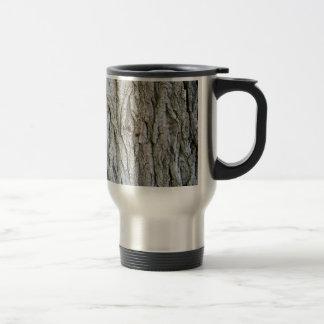 Tree Bark Stainless Steel Travel Mug