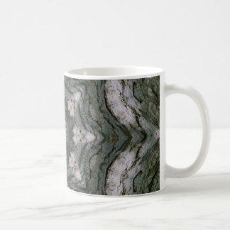 Tree Bark Star Coffee Mug