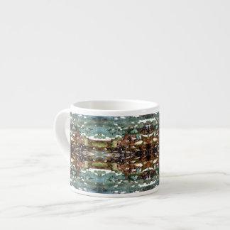 Tree Bark Texture Espresso Mug