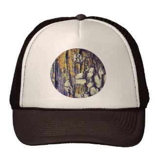 Tree Bark Yin Yang Hat