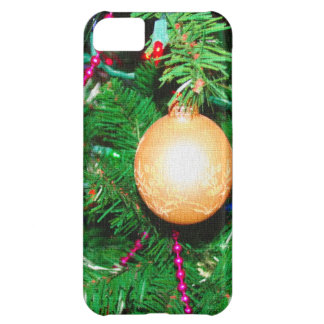 Tree bauble iPhone 5C covers