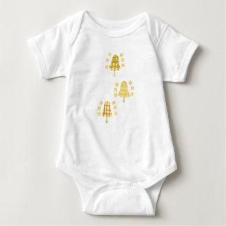 Tree Bell No Background Babygro Baby Bodysuit