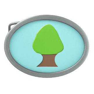 Tree Belt Buckle