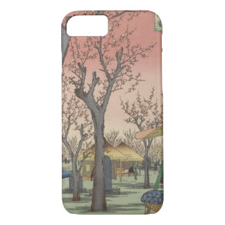 Tree Blossoms Plum Garden Japanese Woodblock iPhone 7 Case