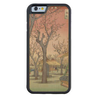 Tree Blossoms Plum Garden Japanese Woodblock Maple iPhone 6 Bumper