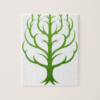 Tree Brain Concept Jigsaw Puzzle