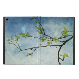 Tree Branch Over Textured Sky iPad Air Cover