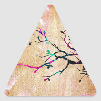 Tree Branch Triangle Sticker