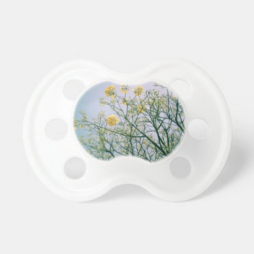 Tree Branches and Yellow Blossoms Baby Pacifier