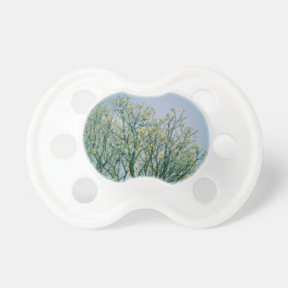 Tree Branches and Yellow Blossoms Pacifiers