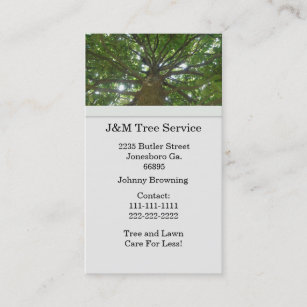 Tree service business cards zazzle uk tree business card colourmoves