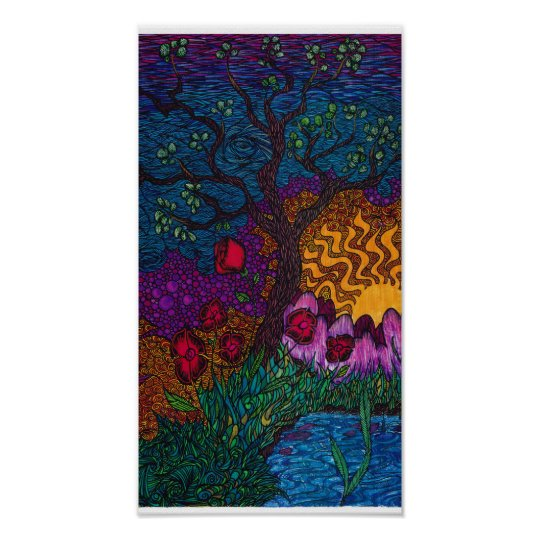 'Tree' by Christopher Blosser Poster