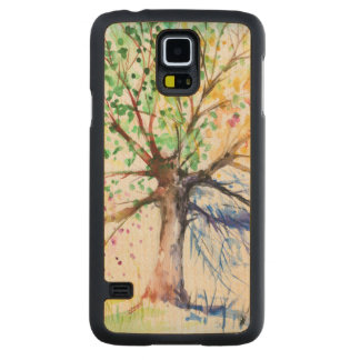 Tree Carved Maple Galaxy S5 Case