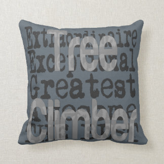 Tree Climber Extraordinaire Cushion