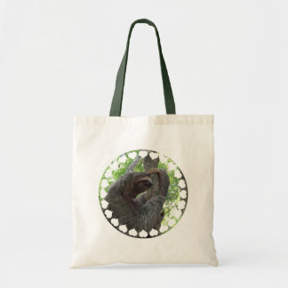 Tree Climbing Sloth Budget Tote Bag