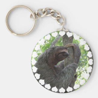 Tree Climbing Sloth Keychain