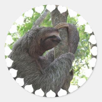Tree Climbing Sloth Sticker