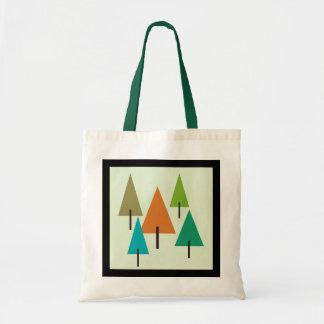 Tree Contemporary Art Tote Bag