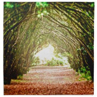 Tree Corridor Napkin