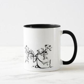 Tree Deer Mug