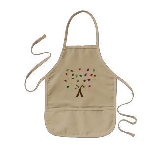 Tree design Apron