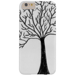 Tree design barely there iPhone 6 plus case