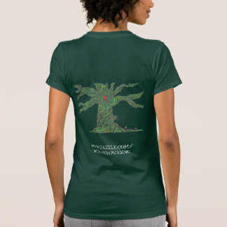 Tree design t-shirt - Let the trees save you