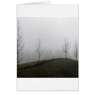 Tree Dewy Meadow Greeting Card