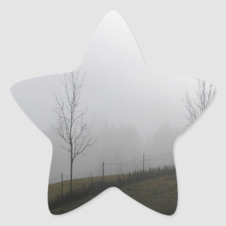 Tree Dewy Meadow Star Sticker