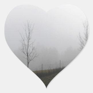 Tree Dewy Meadow Heart Sticker