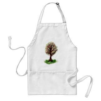 Tree Doodle Standard Apron