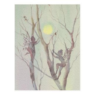 TREE FAERIES by SHARON SHARPE Postcard