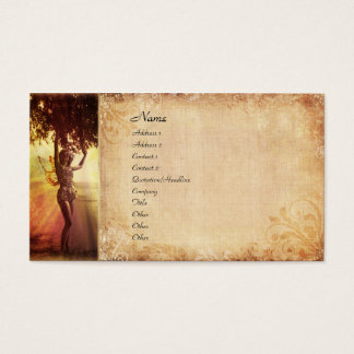 Tree Fairy Business Card