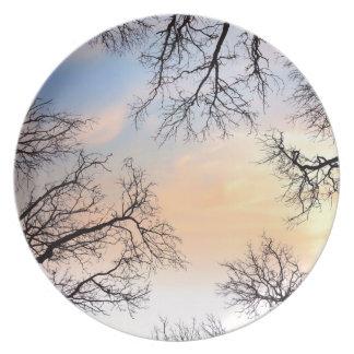 Tree Fairy Plates