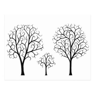 Tree Family Postcard