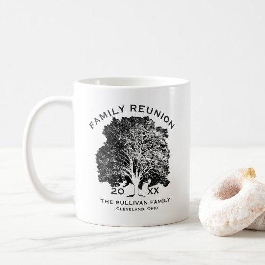 Tree Family Reunion Keepsake Personalised Coffee Mug