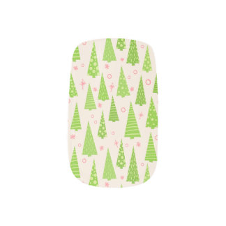 Tree Farm Mixed Mani Nail Wraps