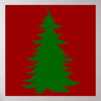 Tree for Christmas Poster