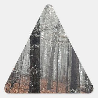 Tree Forest Frost Edwin Nashville Triangle Sticker