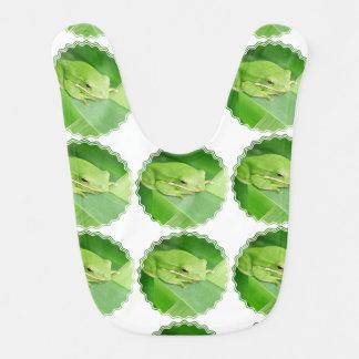 Tree Frog Baby Bibs