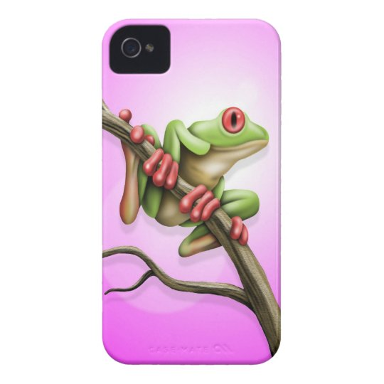 Tree Frog Case-Mate iPhone 4 Cases